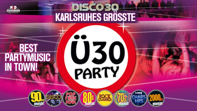 DIE GROSSE Ü30 PARTY